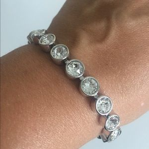 Touchstone Crystal by Swarovski ice bracelet